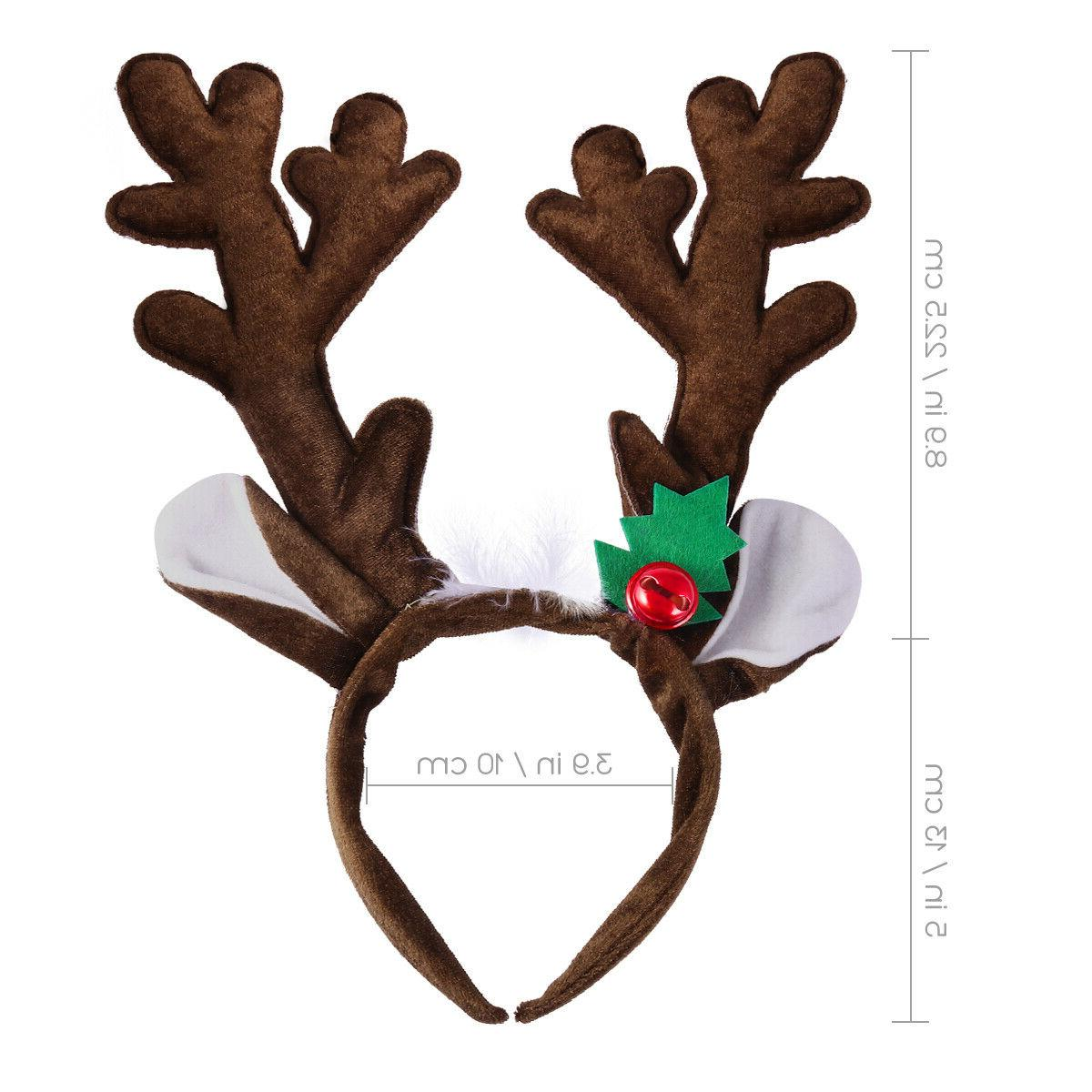 PIXNOR 1PC Antlers Beautiful Christmas Party