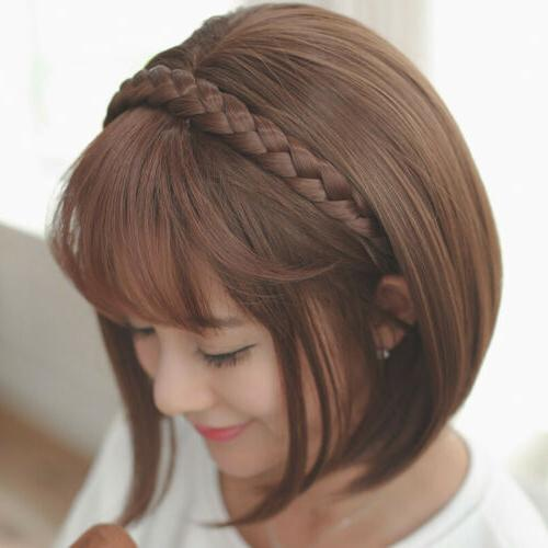 1PC Synthetic Hair Hair Hoop Wig Hairband Headband
