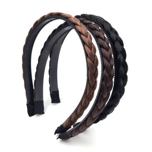 1PC Hair Braided Hair Headband Hair Accessories
