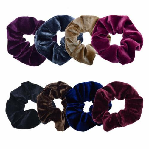 1xHair Scrunchie Ponytail Rope Hair for Women