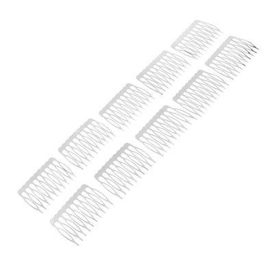 20 Pcs Comb Side Combs Making Hair Accessories Findings