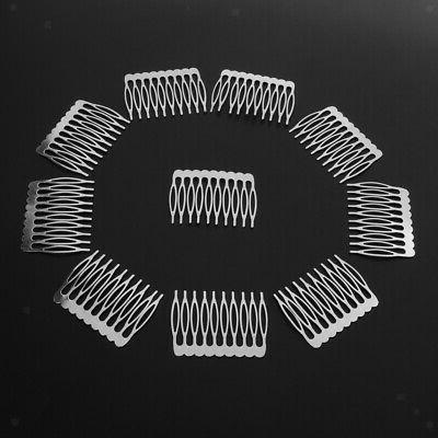 20 Comb Jewelry Making Hair Accessories