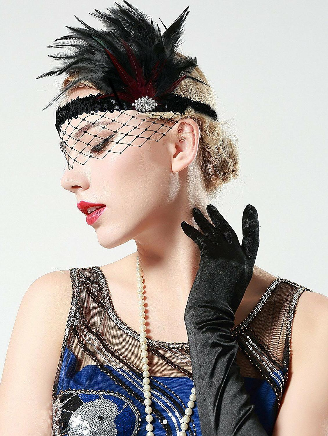 Roaring 20s Feather Crystal