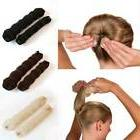 2pcs Cute Hair Styling Crown Donut Bun Maker Hairdisk Shaper
