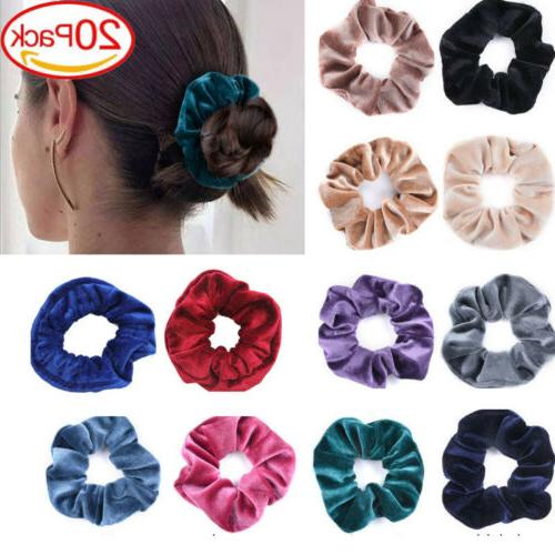 30Pack Scrunchies Bands Scrunchy Ties