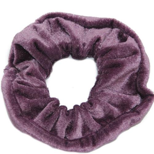 30 Pcs Velvet Elastics Hair Scrunchy Ropes Gifts