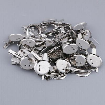 30pc Tray Blank DIY Jewelry Findings