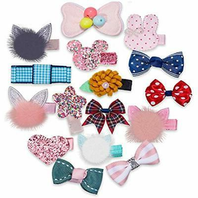 32Pcs Snap Hair Lovely Metal Baby For
