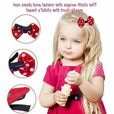 32Pcs Snap Hair Clips Lovely For Girls Toddlers