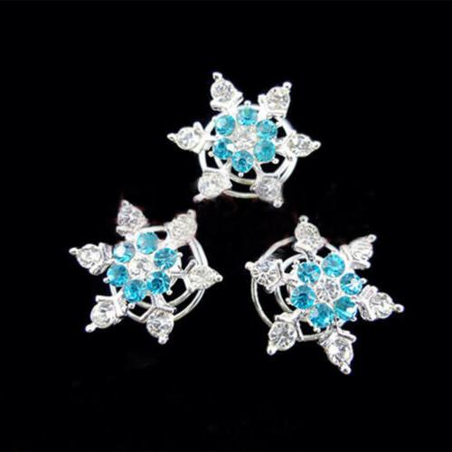 3pcs new hair accessories snowflake bride spiral