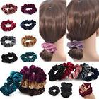 3X Women Elastic Accessories Hair Scrunchie Ponytail Holder