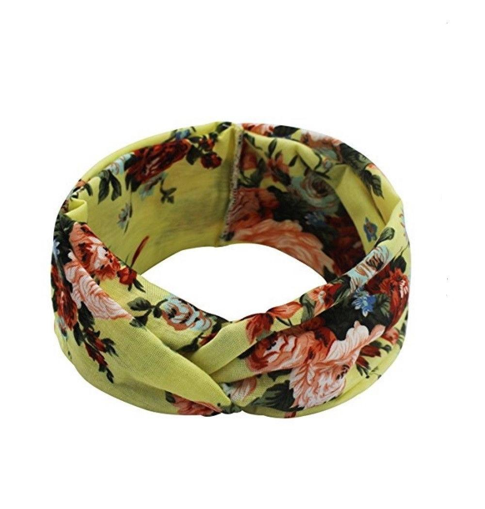 4 Pack Flower Wrap Band