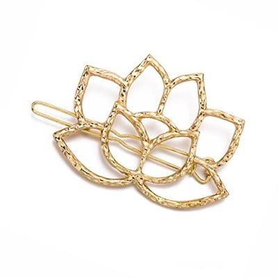 QTMY 4 lotus Hairpin Clips Accessories