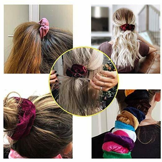 46 Elastic Bands Bobbles Ponytail Ties Rope NEW