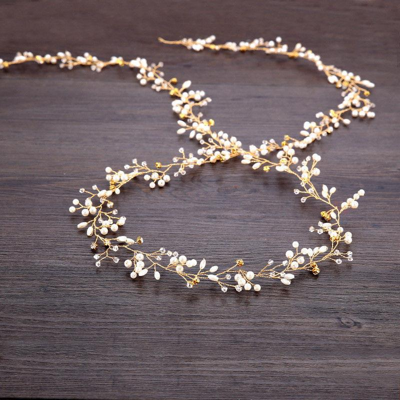 "59"" Long Vine Pearl Bridal Accessories"