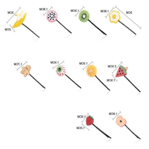 Hairpin Vegetable Clip Hair Accessories Jewelry