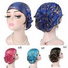 6 colors Fashion Women accessories  Flower Muslim Hair Loss