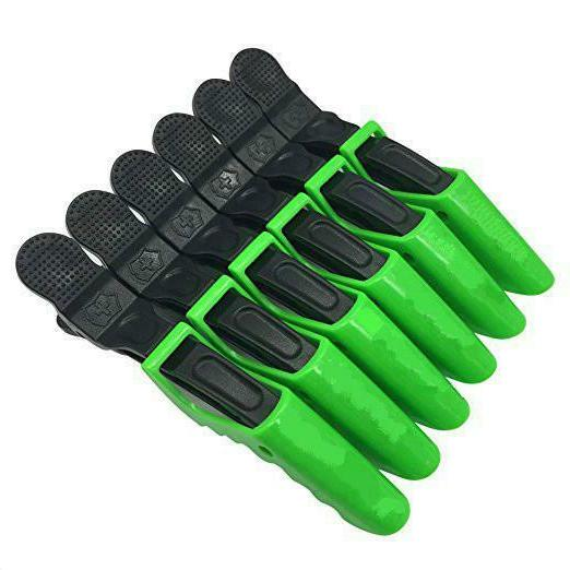 6pcs Styling Clips-Sectioning Plastic Alligator Hair Clip For Th