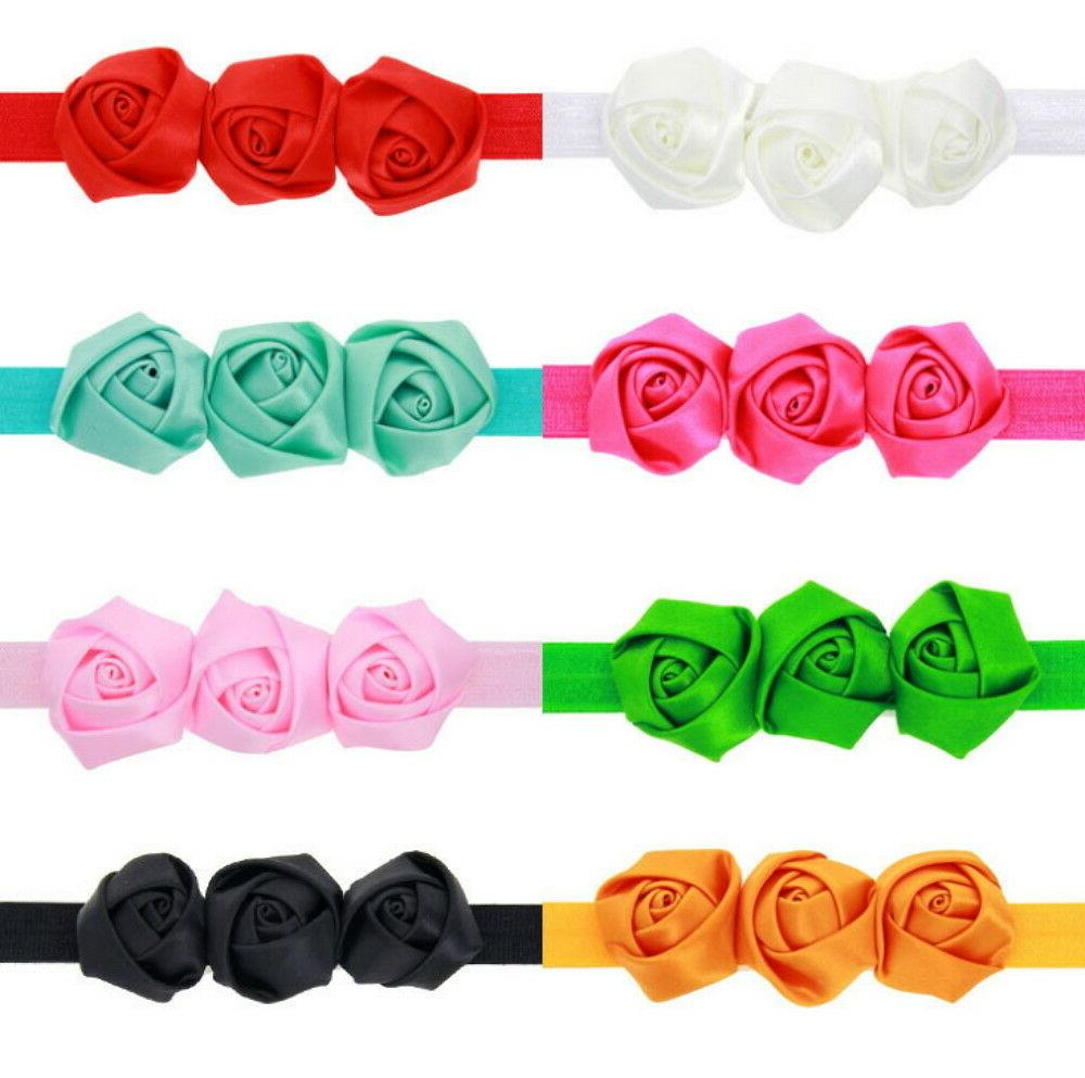 8 Pcs Newborn Baby Girl Headband Toddler Accessories