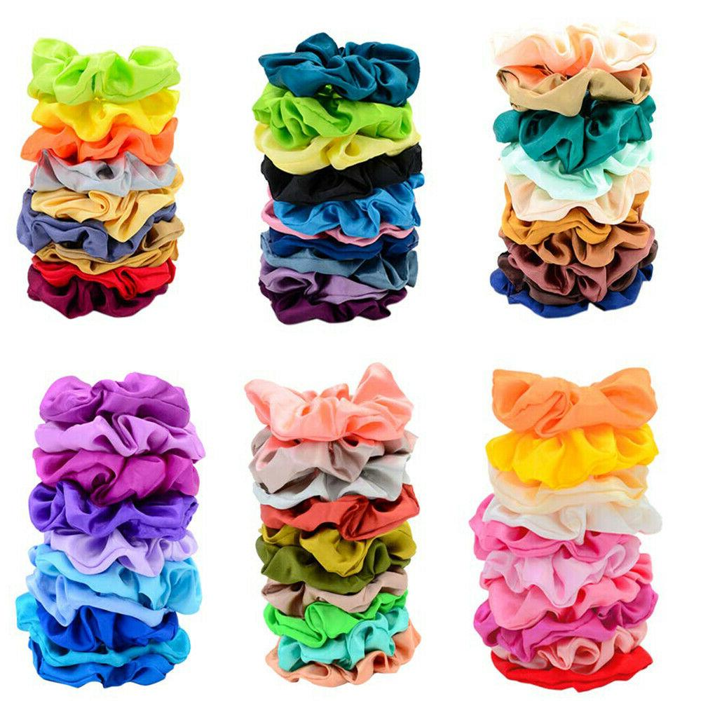 80 Pcs Hair Scrunchies Bobbles Bands Gift