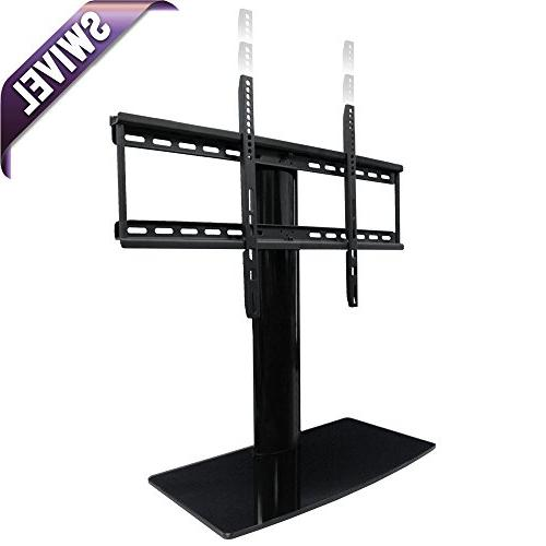 Universal TV Stand for TV with swivel and height adjustment
