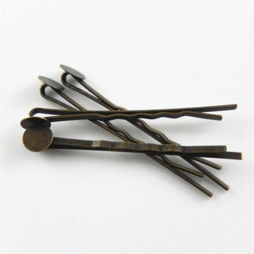 Alloy Hairpin Bronze Finding