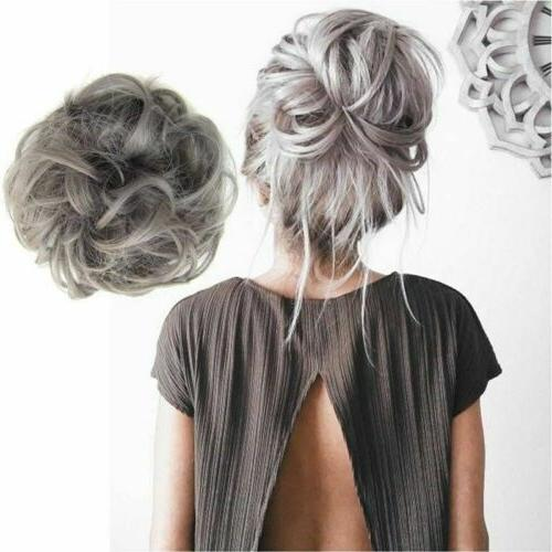As Natural Curly Messy Piece Scrunchie US