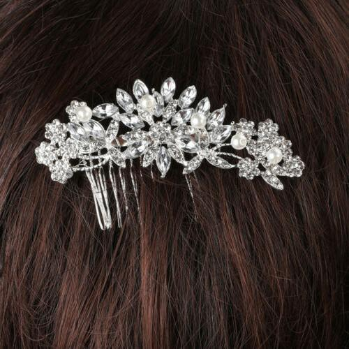 Bridal Crystal Wedding Accessories Silver Styles
