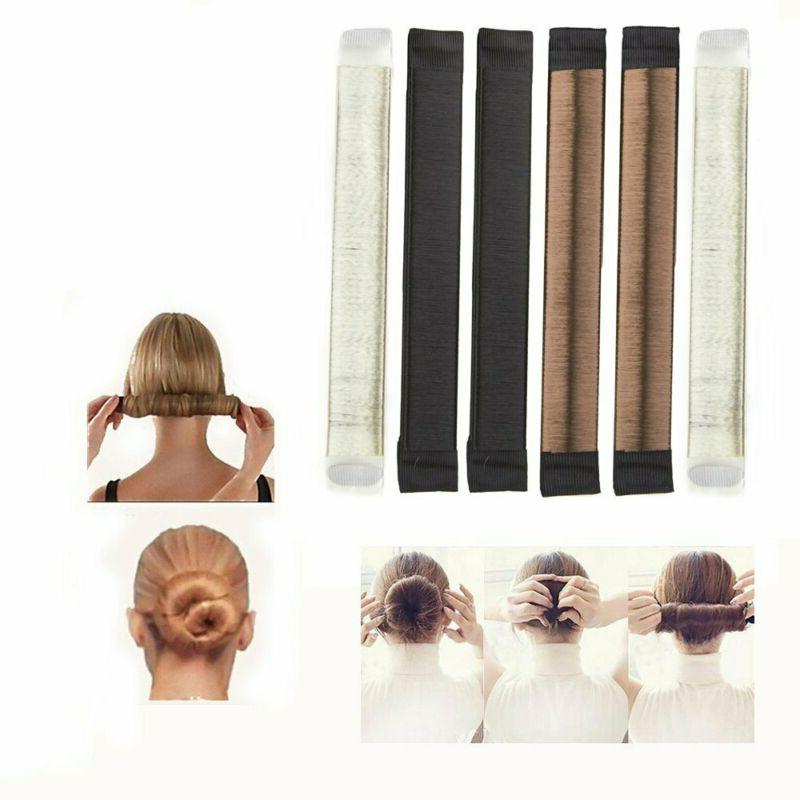 bun and crown shapers hair styling disk