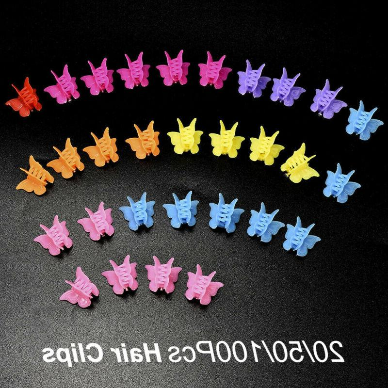 Clamps Kids Butterfly Hair Clips Mini Claws-