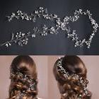 Crystal Wedding Hair Vine Bridal Accessories Pearl Headband