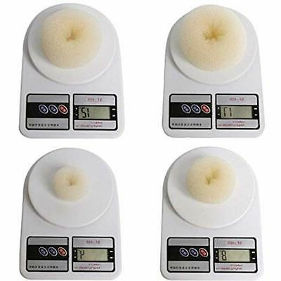 Bun Crown Shapers Donut Styling Accessories Elastic 7
