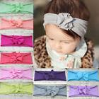 Fashion Kids Girl Baby Headband Toddler Tie Bow Flower Hair