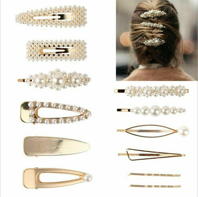 Fashion Women Geometry Triangle Hairpin Clip Hair Accessories
