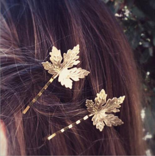 Fashion Women Silver Geometry Triangle Hairpin Clip Hair