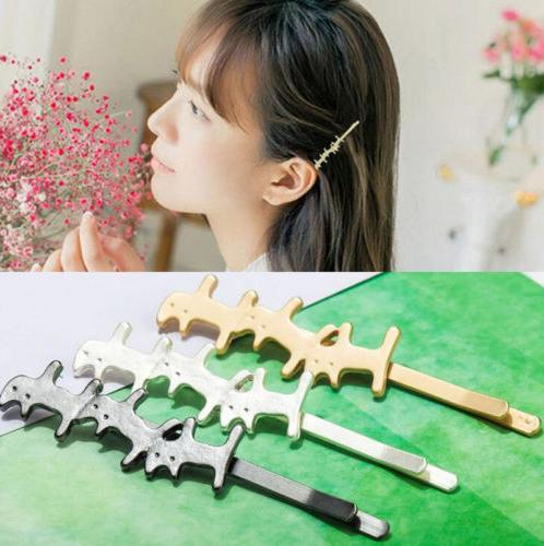 Fashion Gold Geometry Triangle Clip Hair