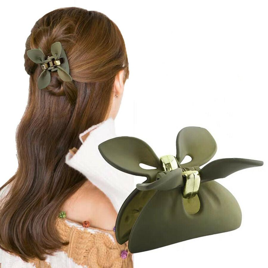 Women's Girl Chic Claw Clips Clamps