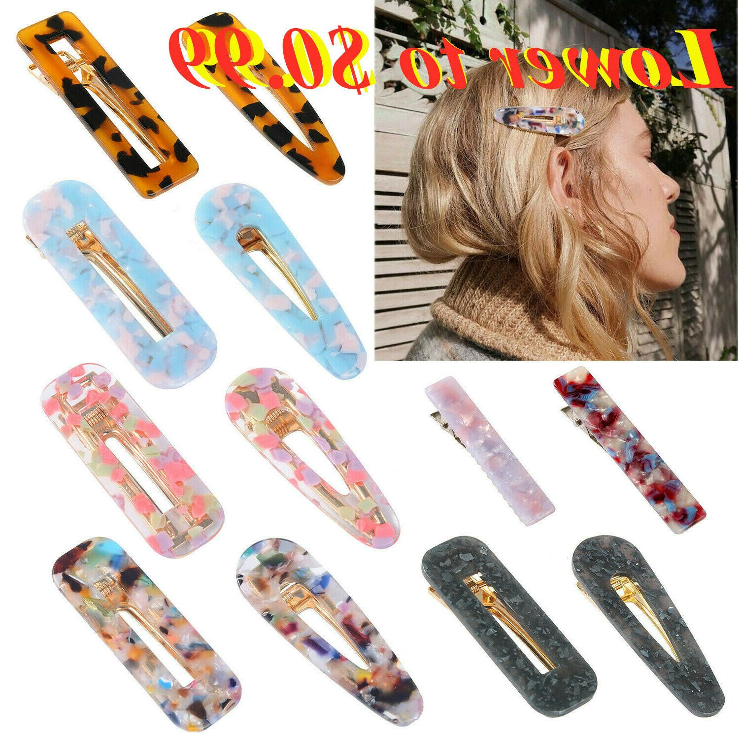 fashion women s hair slide clips snap