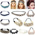 fashion women s lace elastic headband hairband