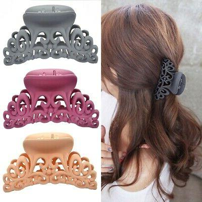 Fashion Large Plastic Hair Clamp Shower Accessories
