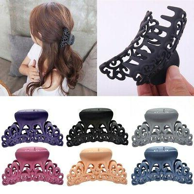 fashion women s large plastic hair claw