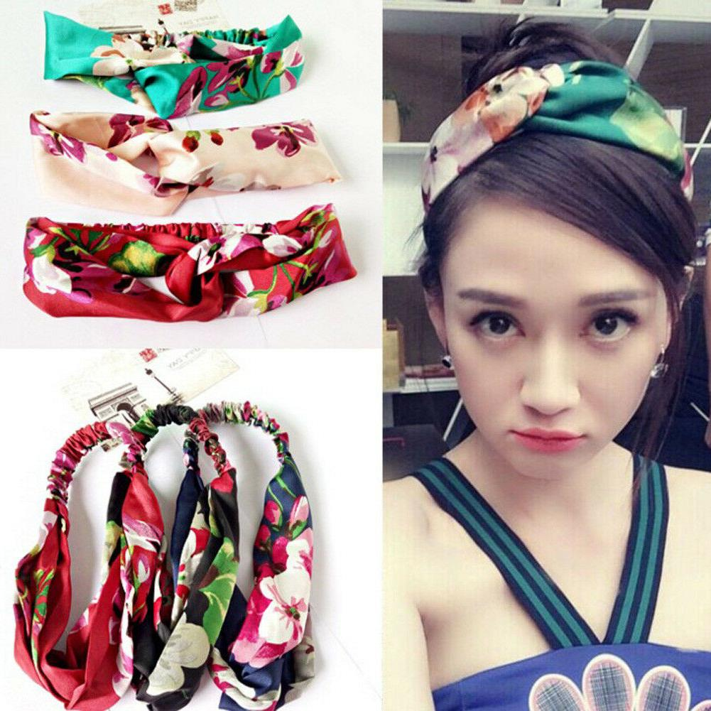 Fashion Women Knot Head Wrap Headband Twisted Knotted Hair Band