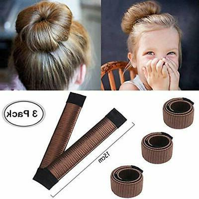 hair bun and crown shapers maker size