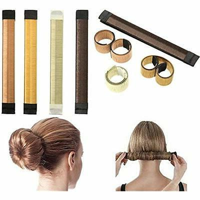 Hair Bun Crown Shapers Styling Pack Accessories