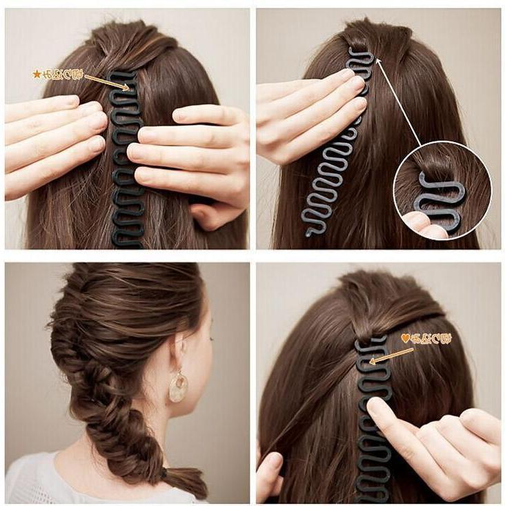 Hair French Braid Clip Magic Bun Maker