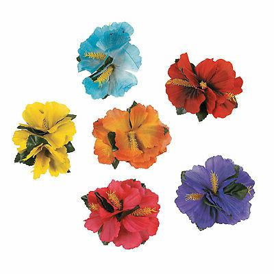 hibiscus hair clips 48 pc apparel accessories