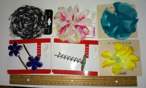 Huge Mixed Hair Accessories Combs Barrettes