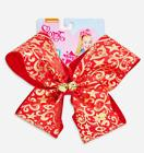 JoJo Siwa Holiday Red & Gold Exclusive Large Signature Hair