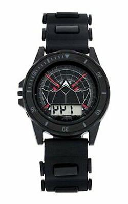DC Justice League LCD Kid's Watch Batman Warner Brothers Bla