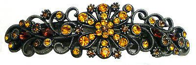 large hair barrette for thick hair antique